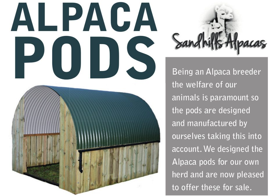 Alpaca Pod for Sale